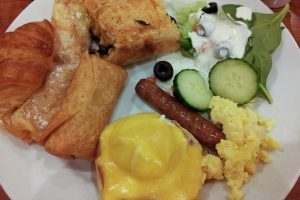 Frühstück im Excalibur