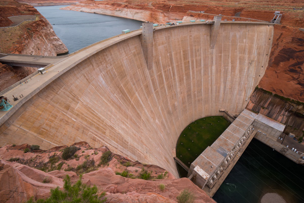 Aussichtsplattform Glen Canyon Dam