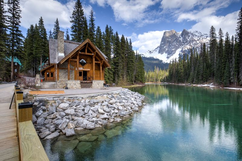 Yoho – Emerald Lake / Natural Bridge