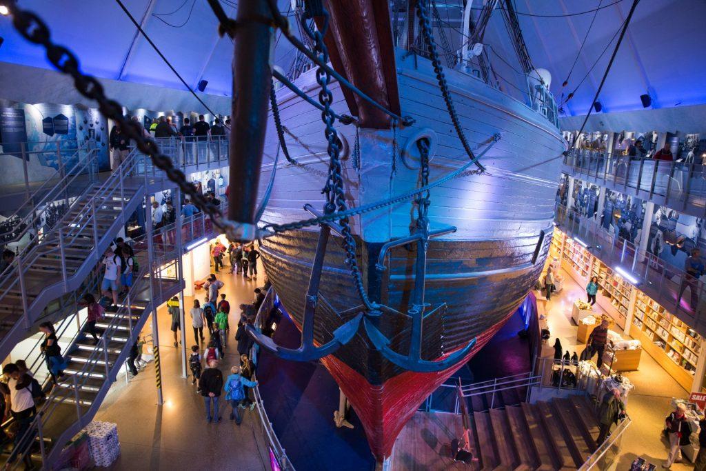 Die Fram im Fram-Museum