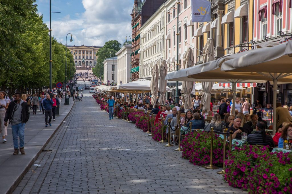Karl Johans Gate in Oslo