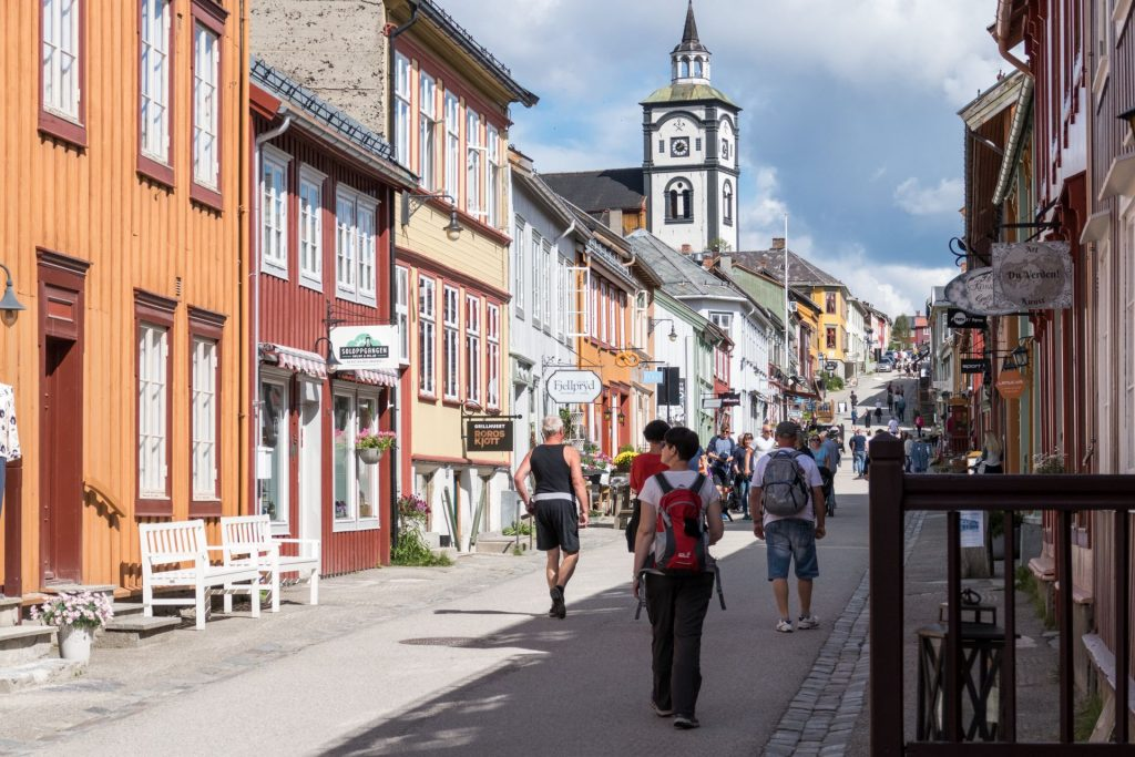Roros Altstadt