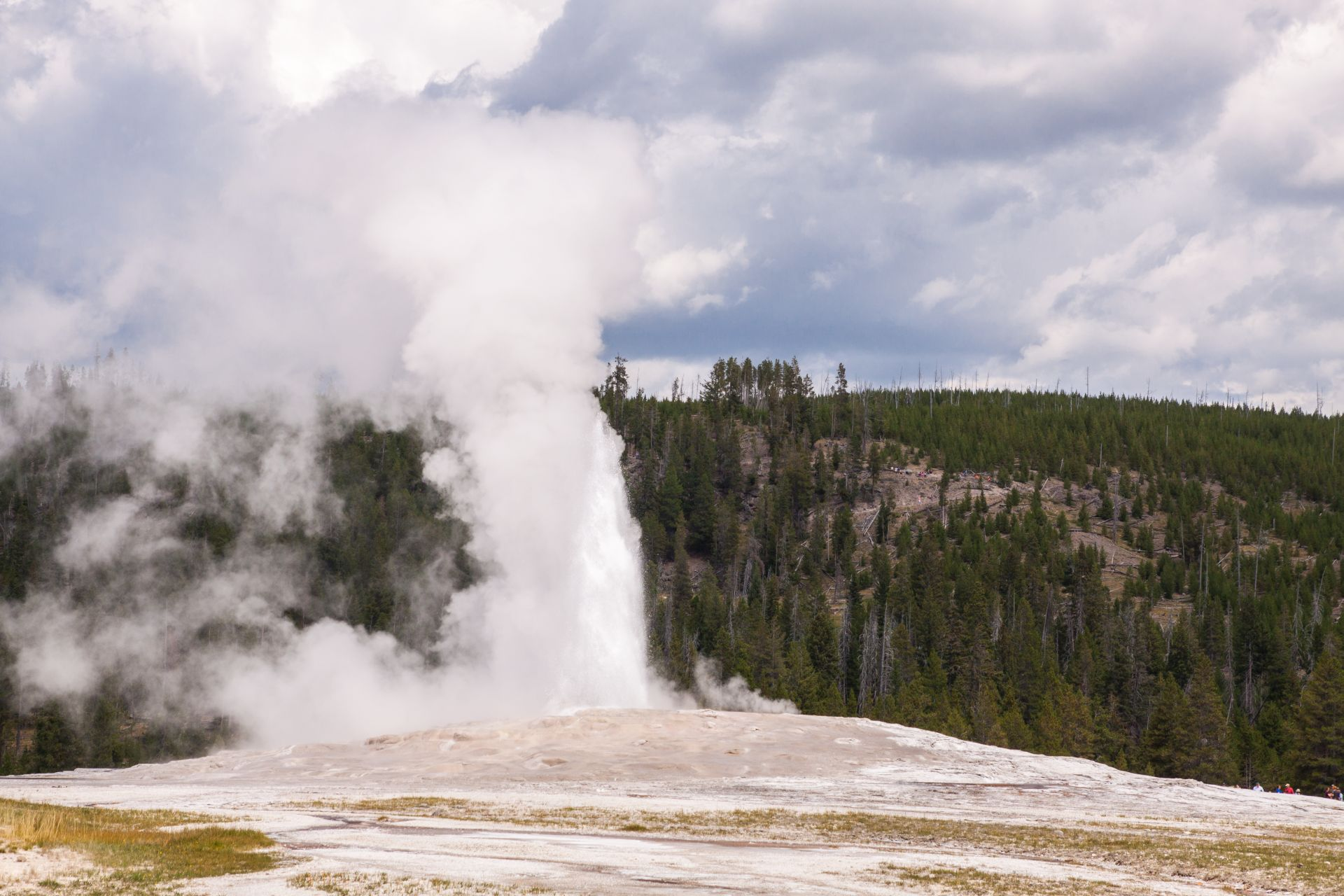 Yellowstone NP - Old Faithful