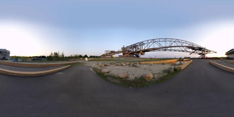 Besucherbergwerk F60 Panorama