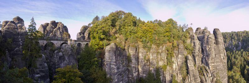 Sächsische Schweiz - Bastei Pano2