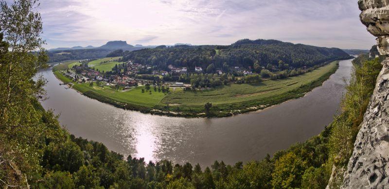 Sächsische Schweiz - Bastei Pano3