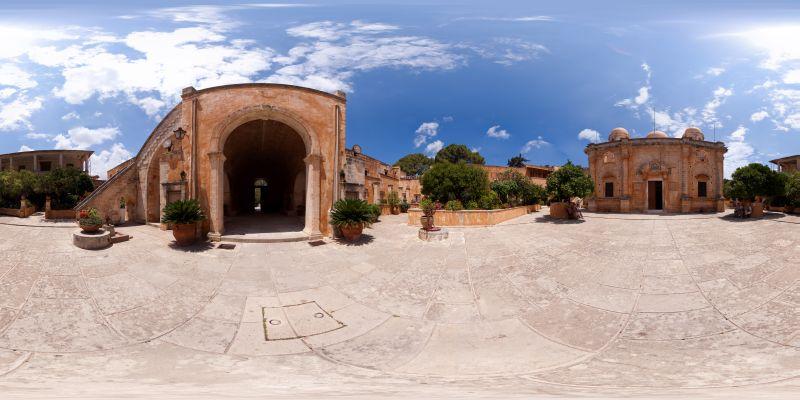 Kloster Agia Triada Panorama 1