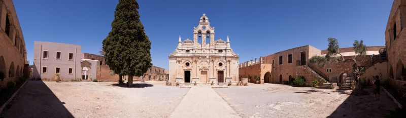 Kloster Arkadi Pano 1
