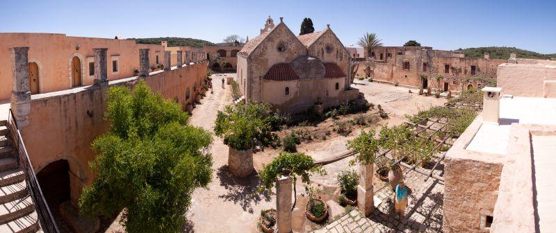 Kloster Arkadi Panorama 2