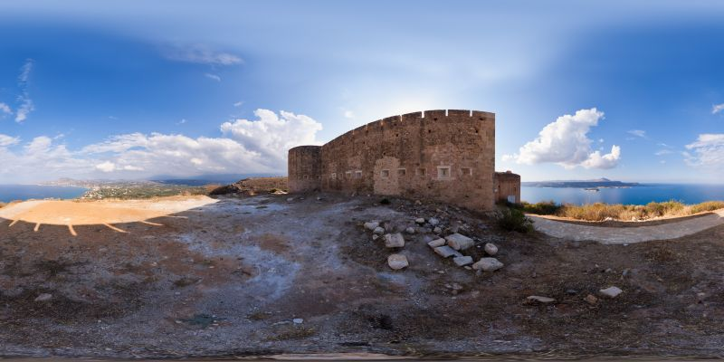 Koules Fortress Panorama