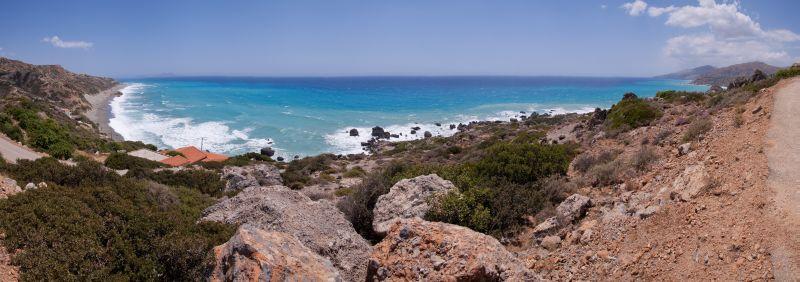 Ligres Beach Panorama