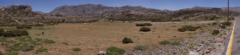 Nida Hochebene Panorama