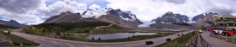 Athabasca Glacier Panorama 1