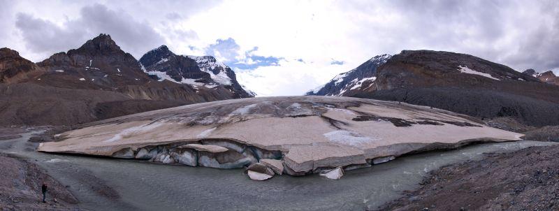 Athabasca Glacier Panorama 2