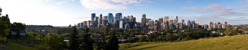 Calgary - Skyline Panorama