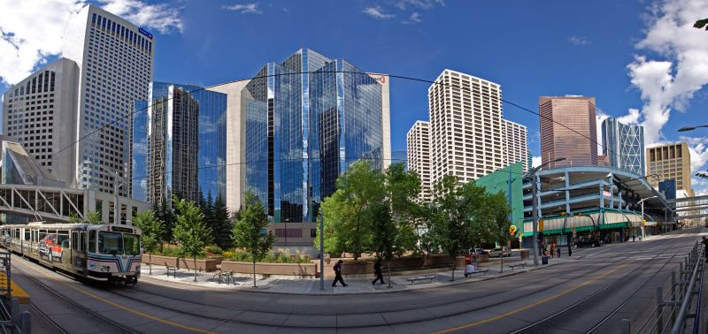 Calgary - Panorama Innenstadt