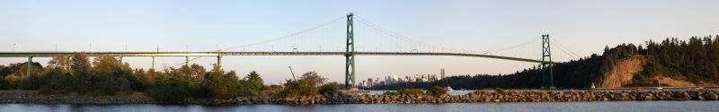 Lions Gate Bridge Panorama 1