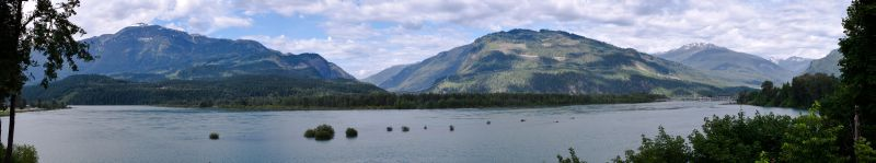 Lake Revelstoke Panorama