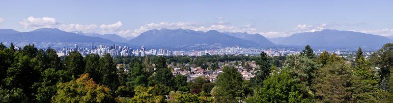 Queen Elizabeth Park Panorama