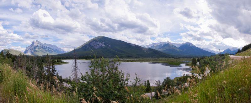 Vermilion Lakes Pano
