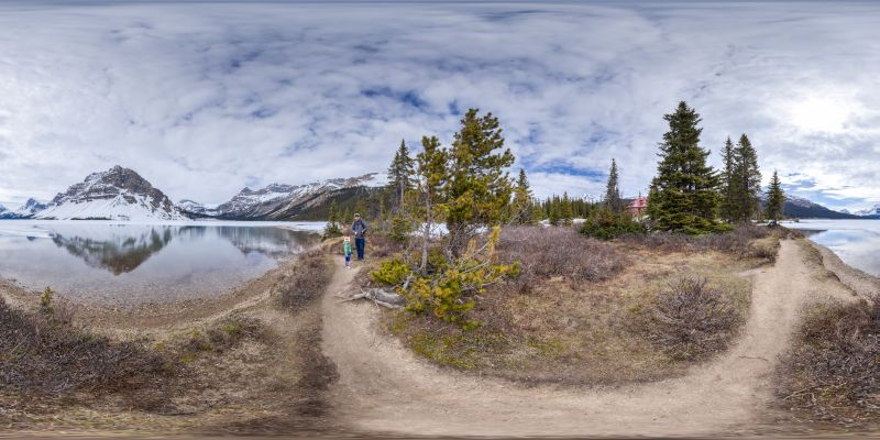Banff – Bow Lake Panorama