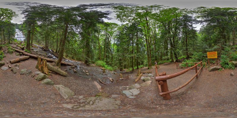 Bridal Veil Falls Panorama