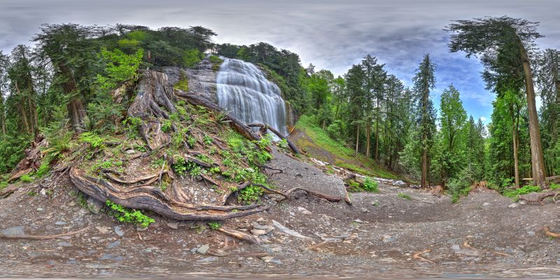 Bridal Veil Falls Panorama 2