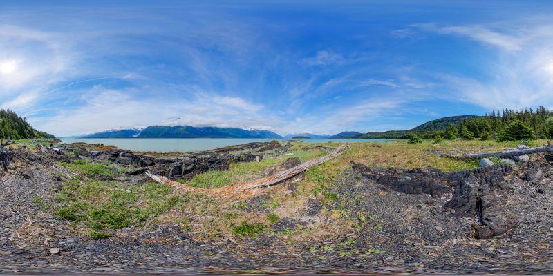 Chilkat State Park Panorama