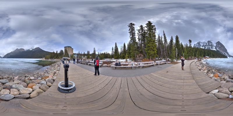 Banff – Lake Louise Panorama