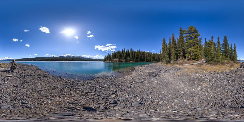 Maligne Lake Panorama