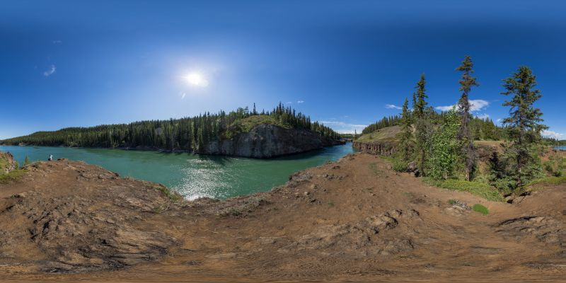 Whitehorse – Miles Canyon Panorama