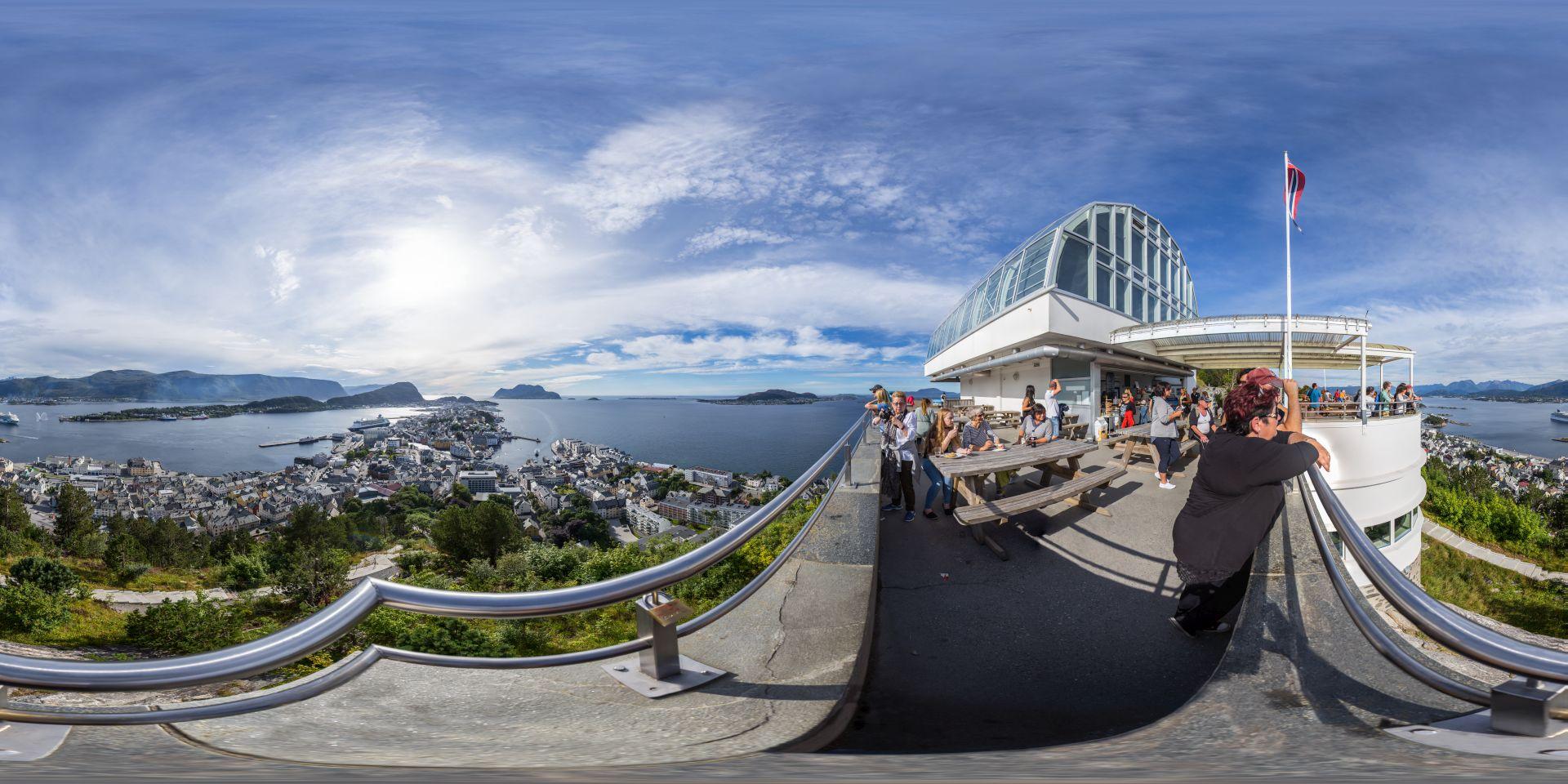 Alesund Aksla Panorama