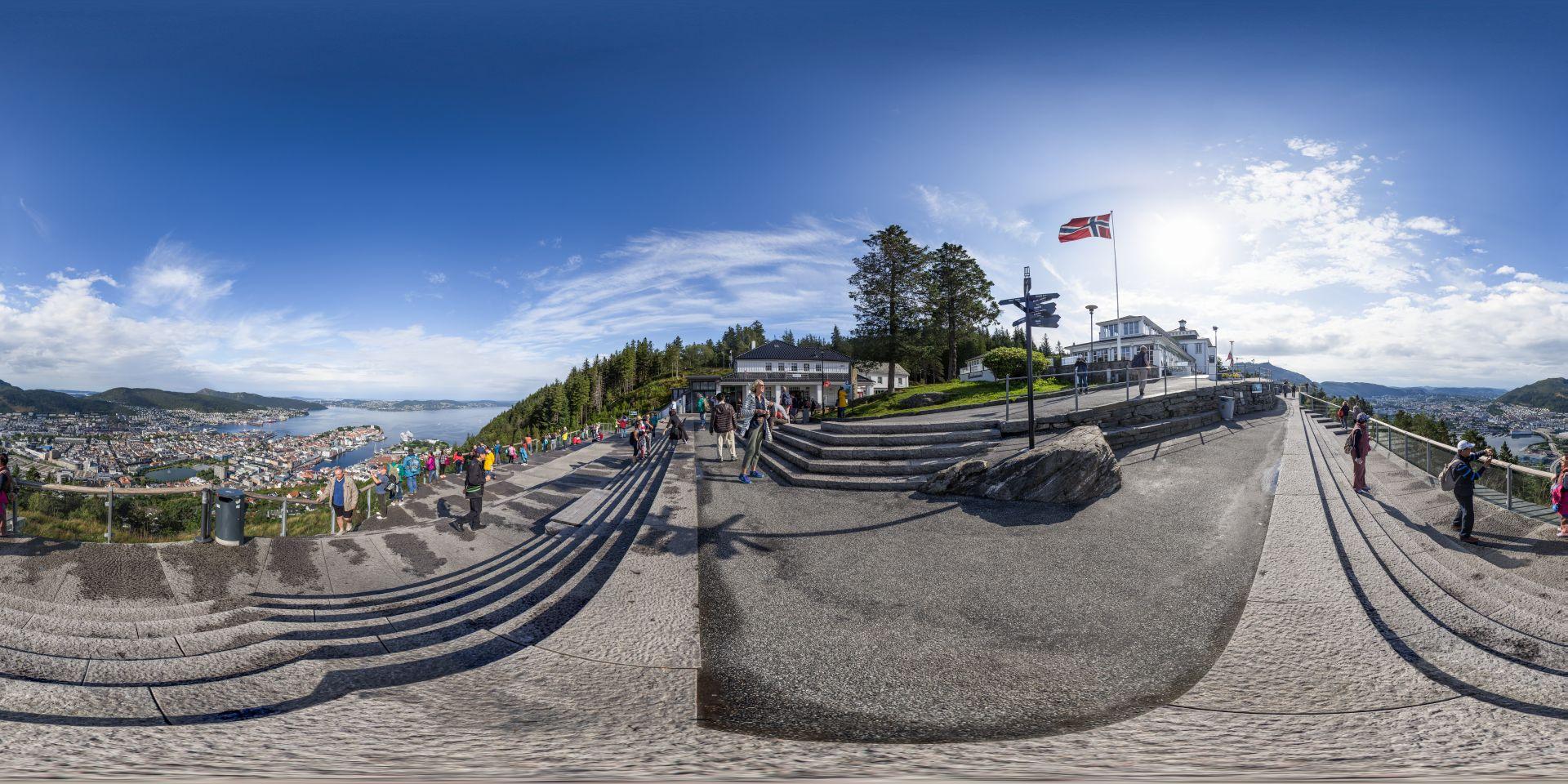 Bergen Floi Panorama