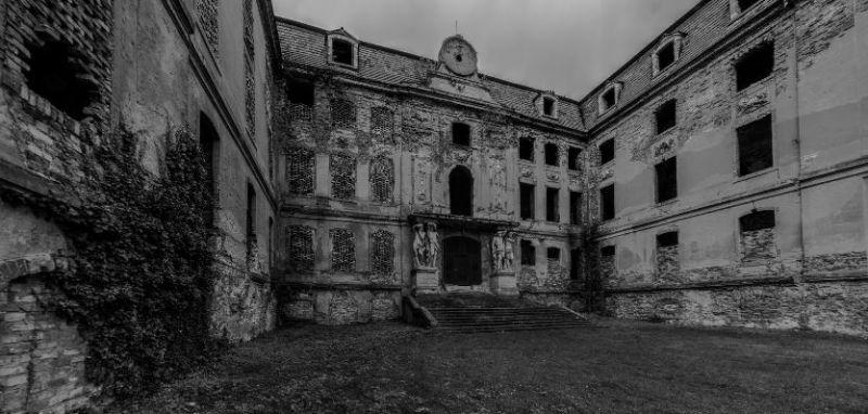 Schloss in Brody / Pförten