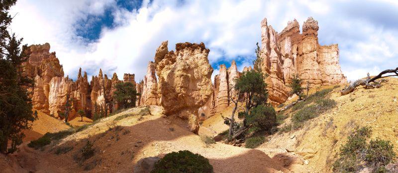 Bryce Canyon – Queens Garden Panorama 2