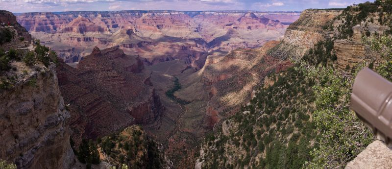 Grand Canyon - Bright Angel Panorama