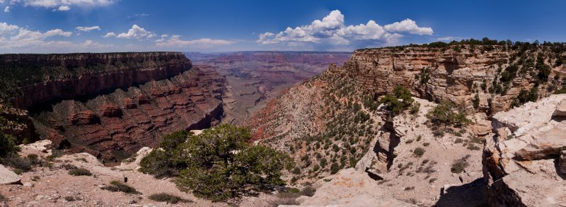 Grand Canyon - South Kaibab Panorama