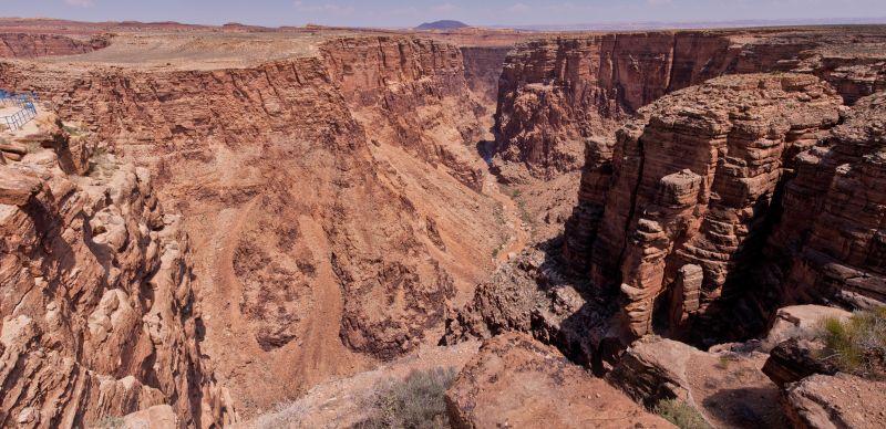 Little Colorado Canyon Panorama 1