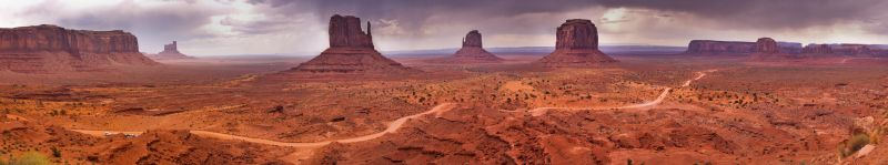Monument Valley - Panorama 1