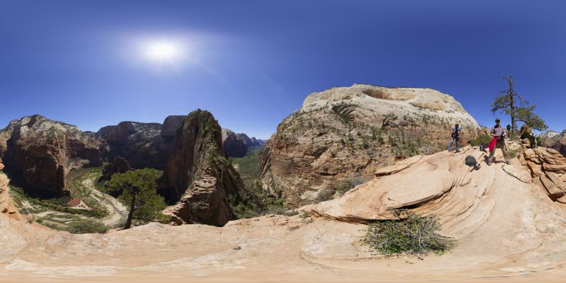 Zion - Angels Landing Panorama 2