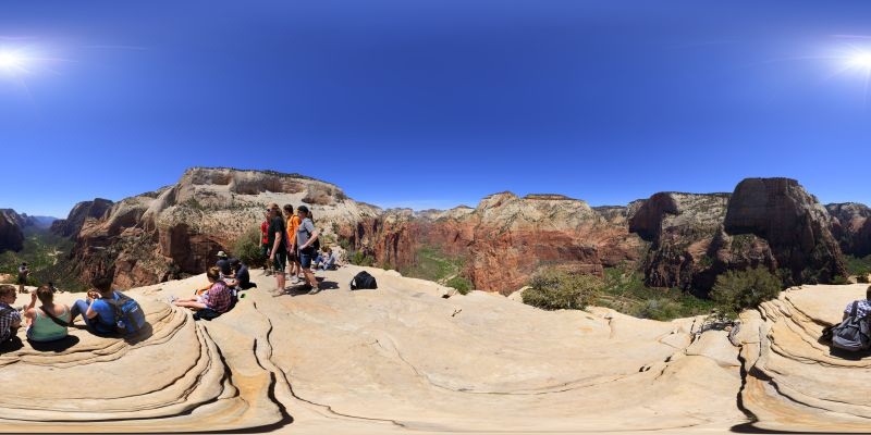 Zion - Angels Landing Panorama 3