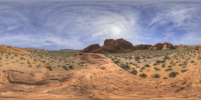 Valley of Fire - Arch Rock Panorama