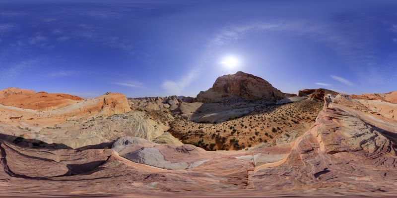 Valley of Fire - Crasy Hill Panorama
