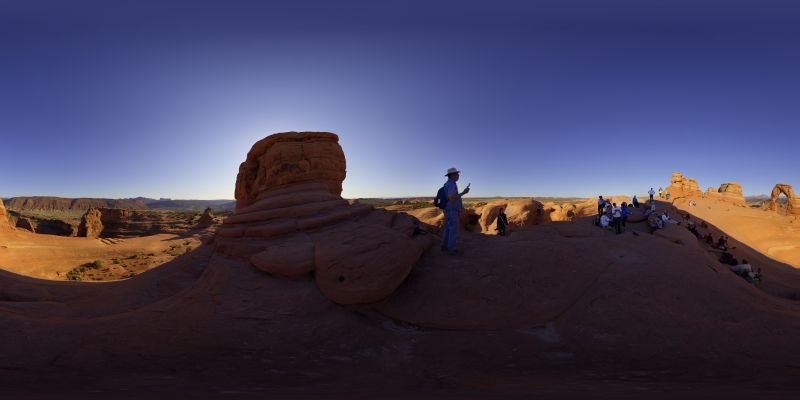 Delicate Arch Panorama