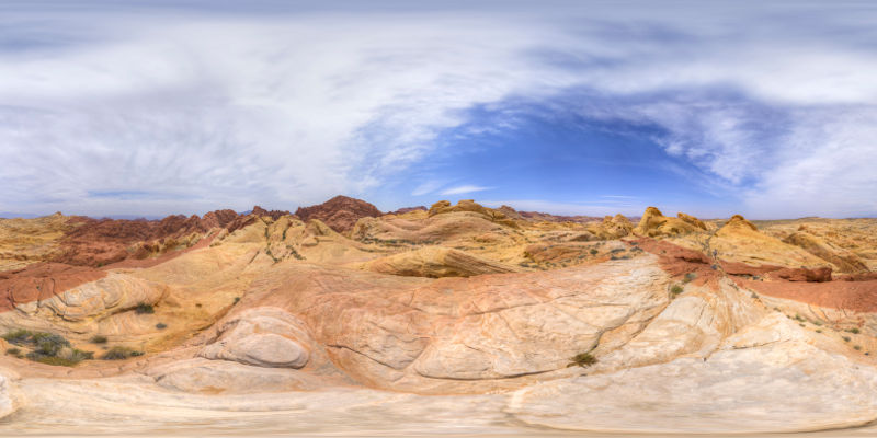 Valley of Fire - Fire Canyon Panorama