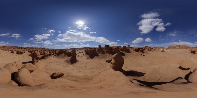 Goblin Valley Panorama 1