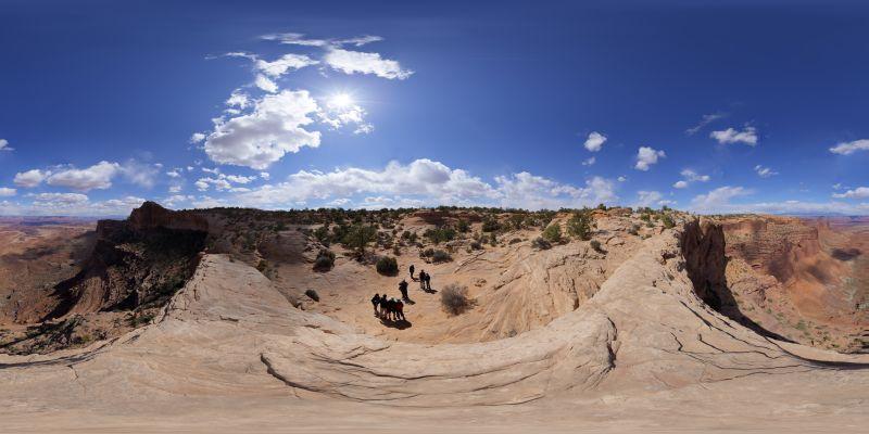Canyonlands – Mesa Arch Panorama