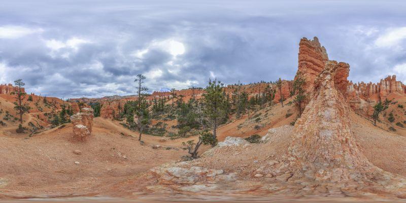 Bryce Canyon – Queens Garden Panorama