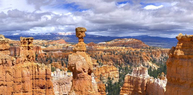 Bryce Canyon - Thors Hammer Panorama