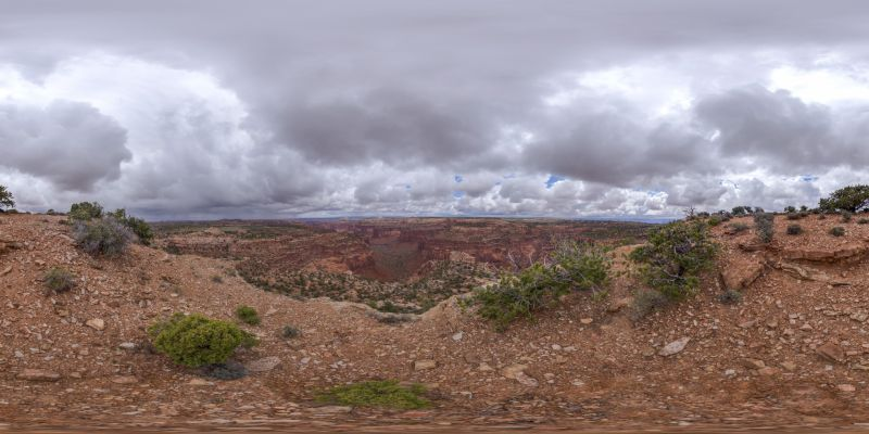 Canyonlands – Aztec Butte Trail Panorama 2